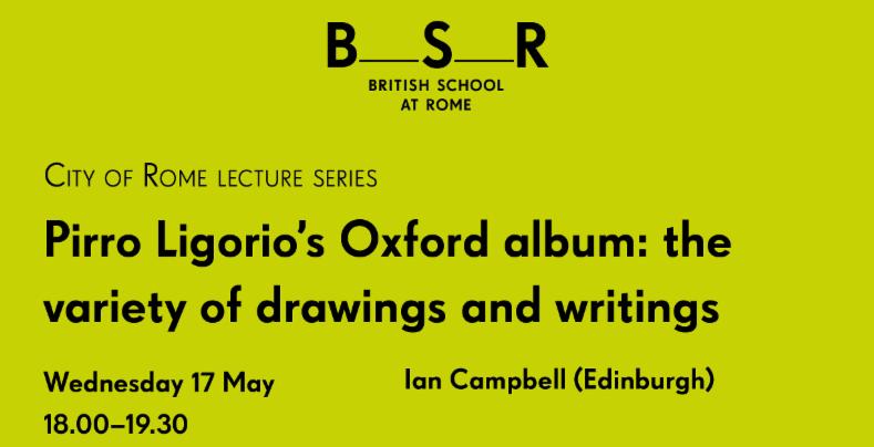 Conferenza di Ian Campbell su LIGORIO-OXFORD