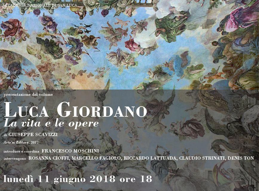 Presentazione libro LUCA GIORDANO, 11 giugno 2018